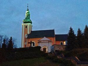 Kościół parafialny pw. Zwiastowana NMP w Biskupowie.