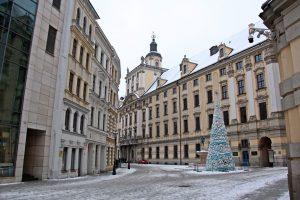 Wrocław - Plac Uniwersytecki.