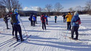Rejviz - uczymy się biegać na nartach.